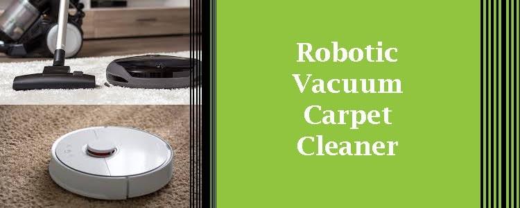 Robotic Vacuum Carpet Cleaner